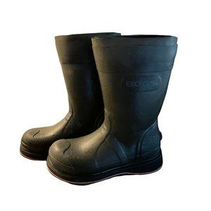 Bogs Simms Fishing Men's 8 Vibram Tall Foot Waders Waterproof Rubber Black Shoes